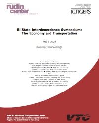 Bi-State Interdependence Symposium: The Economy and Transportation