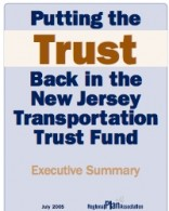 Putting the Trust Back in the New Jersey Transportation Trust Fund