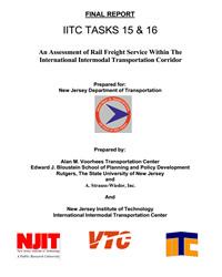 An Assessment of Rail Freight Service Within the International Intermodal Transportation Center