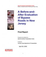 Before-After Evaluation of NJDOT Bypass Projects