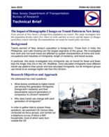The Impact of Demographic Changes on Transit Patterns in New Jersey