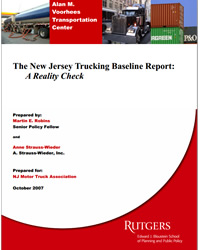 The New Jersey Trucking Baseline Report: A Reality Check