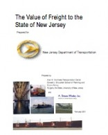 The Value of Freight to the State of New Jersey
