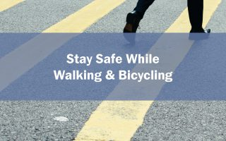 COVID-19: Staying Safe While Walking and Bicycling